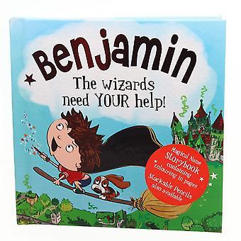 History & Heraldry Magical Name Storybook - Benjamin