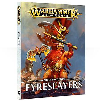 Warhammer Age Of Sigmar Battletome Fyreslayers (hardback)