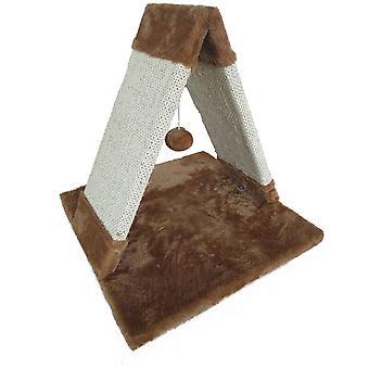 Ica Piramide Raschietto con Palla (Gatti , Giochi , Tiragraffi)