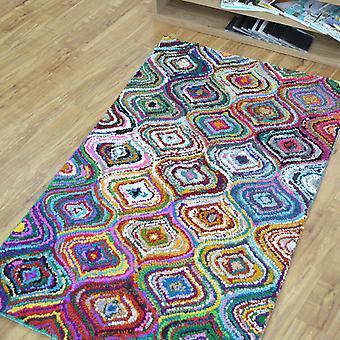 Katoen Chindi Aston veelkleurige tapijten 04