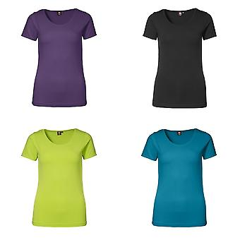 ID Womens/dames Stretch muni de manches courtes T-Shirt