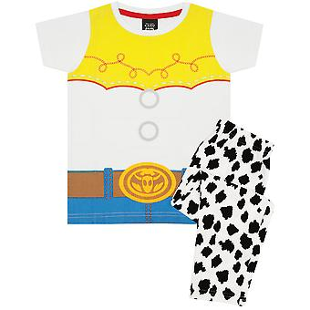 Toy Story Jessie Cowgirl Girl's Kid's Pyjamas Nightwear Set