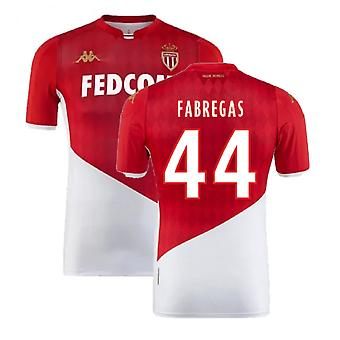 2019-2020 AS Monaco Kappa Home Shirt (FABREGAS 44)