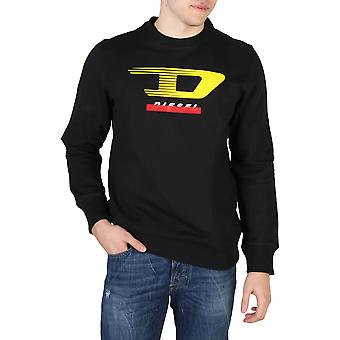 Diesel Original Men All Year Sweatshirt - Black Color 55446