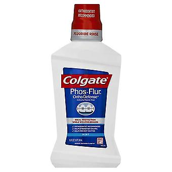Colgate phos-flur ortho defense anti-cavity fluoride rinse, mint, 16 oz