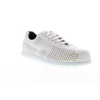 Camper Pelotas XL  Womens White Leather Low Top Sneakers Shoes