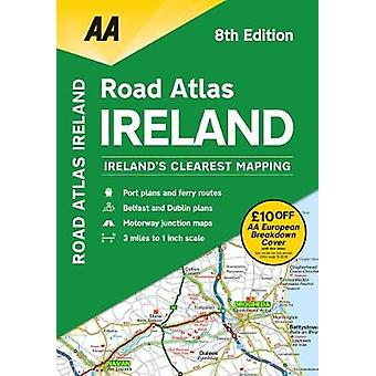 AA Road Atlas Ireland by AA Publishing - 9780749579883 Book
