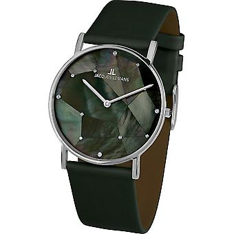 جاك ليمانس -- ساعة اليد -- السيدات -- يورك -- كلاسيك -- 1-2050A