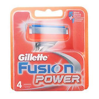 Ersatz Rasierklinge Fusion Power Gillette (4 uds)