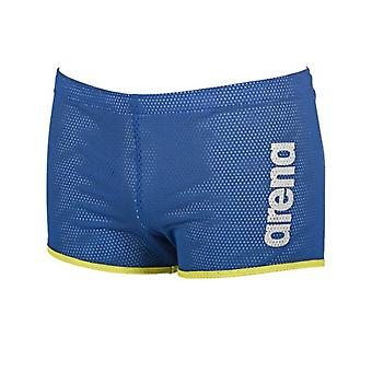Arena Unisex Square Cut Drag Swim Shorts - Royal