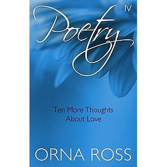 Poetry IV The Font Inspirational Poetry Pamphlets by Ross & Orna