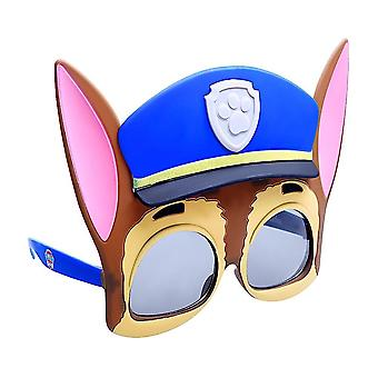 Paw patrol chase sun-staches novelty sunglasses