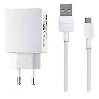 Wall Charger + USB Micro Cable Huawei (1 m) 10 W White