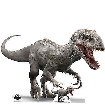 La découpe de carton Indominus Rex officiel Jurassic World / voyageur debout