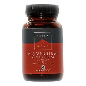 Terranova Kalsium Magnesium 2:1 monimutkainen Vegicaps 50 (T1032)