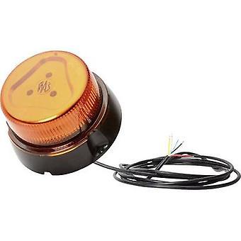 WAS Emergency light W126 Double Flash 866.4DSYNC 12 V, 24 V via in-car outlet Screw mount Orange
