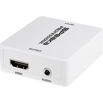 SpeaKa Professional Audio/phono Extractor [HDMI - HDMI, Jack, RCA] 1920 x 1080 p