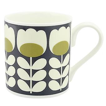 Orla Kiely Green Tulip Stem Mug