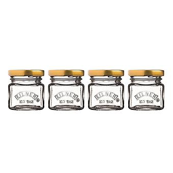 Kilner Mini Jars (Pack de 4)