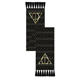 Harry Potter Deathly Hallows Black Scarf