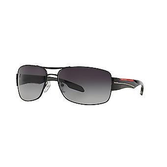 Prada Sport Linea Rossa SPS53N 7AX5/W1 BLACK/Polarised Grey Gradient Sunglasses