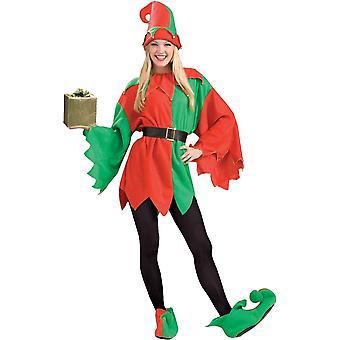 Santas Helper Elf Erwachsenen Kostüm