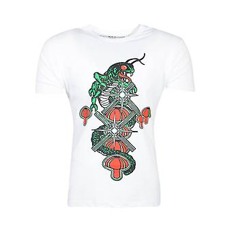 Men's Atari Centipede Arcade Graphic White T-Shirt