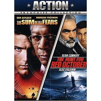 Hunt for Red October/Sum of All Fears [DVD] USA import