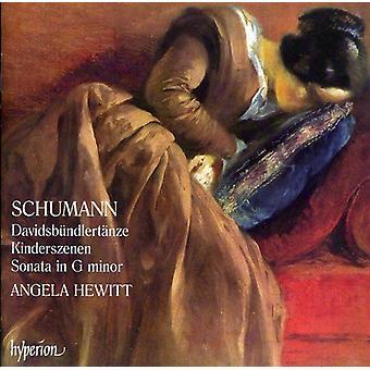 R. Schumann - Schumann: Davidsb Ndlert Nze; Kinderszenen; Sonata No. 2 [CD] USA import