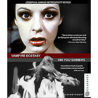 Vampire Ecstasy / Sin You Sinners [DVD] USA import