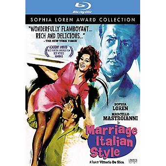 Marriage Italian Style [BLU-RAY] USA import