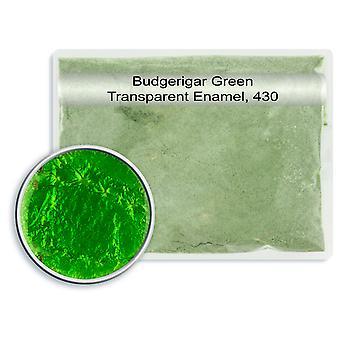 Leadfree Transparent Enamel Budgerigar Green, 430, 25gm