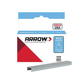 Arrow P22 Staples 6mm (1/4in) Box 5050 ARRP2214