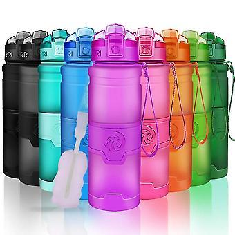 Garrafa de água esportiva de movimento portátil do shaker de proteína