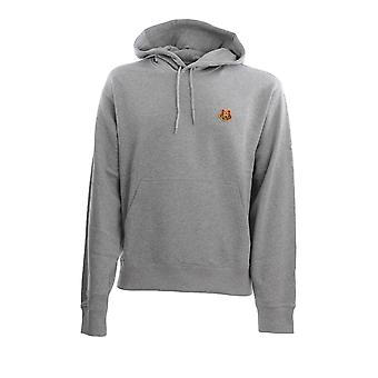 Kenzo Fa65sw3604md94 Men's Grey Cotton Sweatshirt