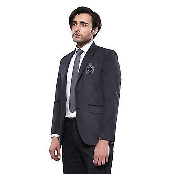 Peak lapel fume velvet jacket | wessi