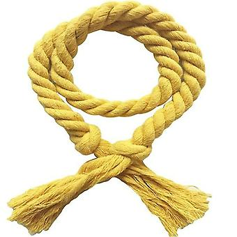 Solid Color Curtain Buckles Tie Rope