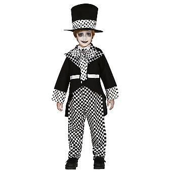 Pojat hullu hattu poika hullu hatuntekijä fancy mekko puku