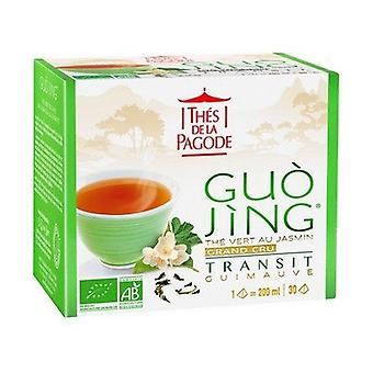 Guo Jing Organic Green Tea With Jasmine And Marshmallow 30 infusion bags