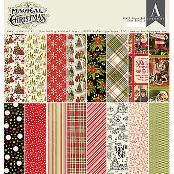 Authentique A Magical Christmas 12x12 pulgadas Paper Pad