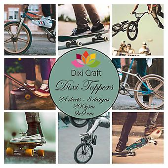 Dixi Craft Toppers Skater