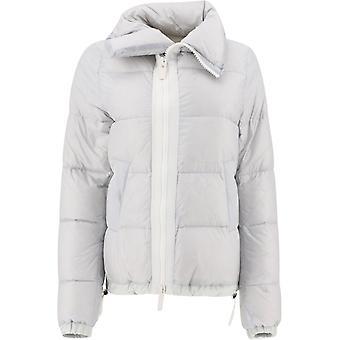 Sacai Scw037376 Femmes's Grey Nylon Down Jacket