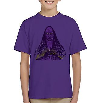 Purple Valak The Conjuring 2 Kid's T-Shirt