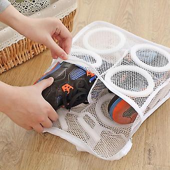 Laundry Bag Organizer Bag For Mesh Laundry Shoes Dry Shoe Home Organizer Portable Laundry Washing Bags