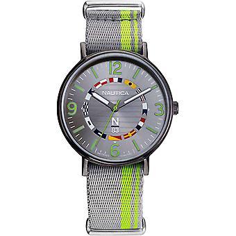 NAPWGS903, Nautica Wave Garden Relojes para hombre -Grey