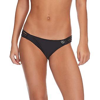 Body Glove Women's Smoothies Flirty Surf Rider Solid Bikini Bottom Swimsuit, ...