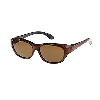 Sunglasses Unisex brown with brown lens Vz0027ps