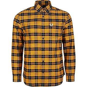 Fred Perry Authentics Long Sleeved Tartan Shirt