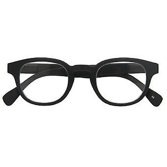 Óculos de leitura Unisex Montel espessura negra +2,00