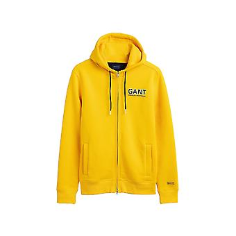 Gant Men's Zip Hoodies Regular Fit